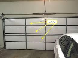 advantages of garage door insulation